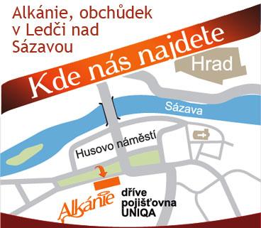 Kde najdete Alkánii na mapě